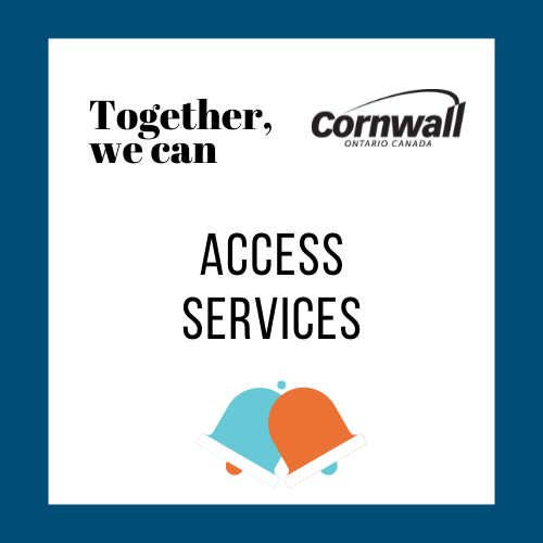 together, we can: access services