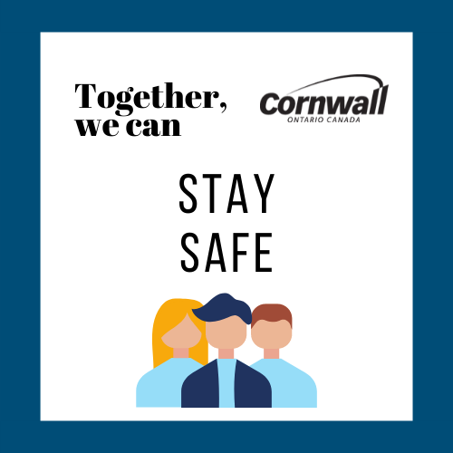 together, we can: stay safe