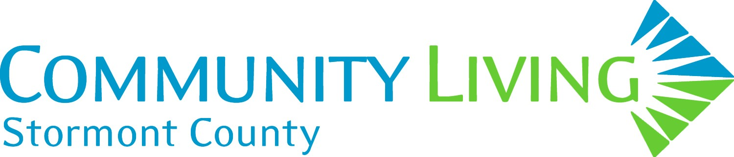 Community Living logo in blue
