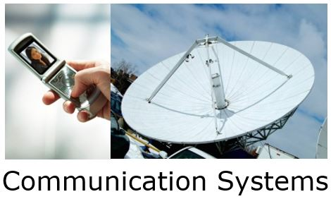 Image of cell phone and communication equipment