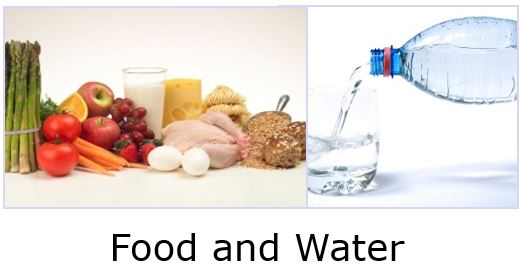 Critical Infrastructure with food and water