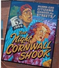 Cornwall mural called the Night Cornwall Shook