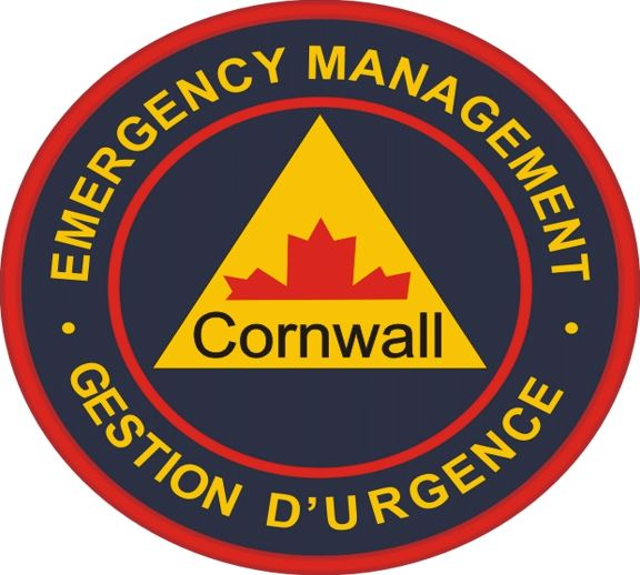 Logo for the Cornwall Office of Emergency Management