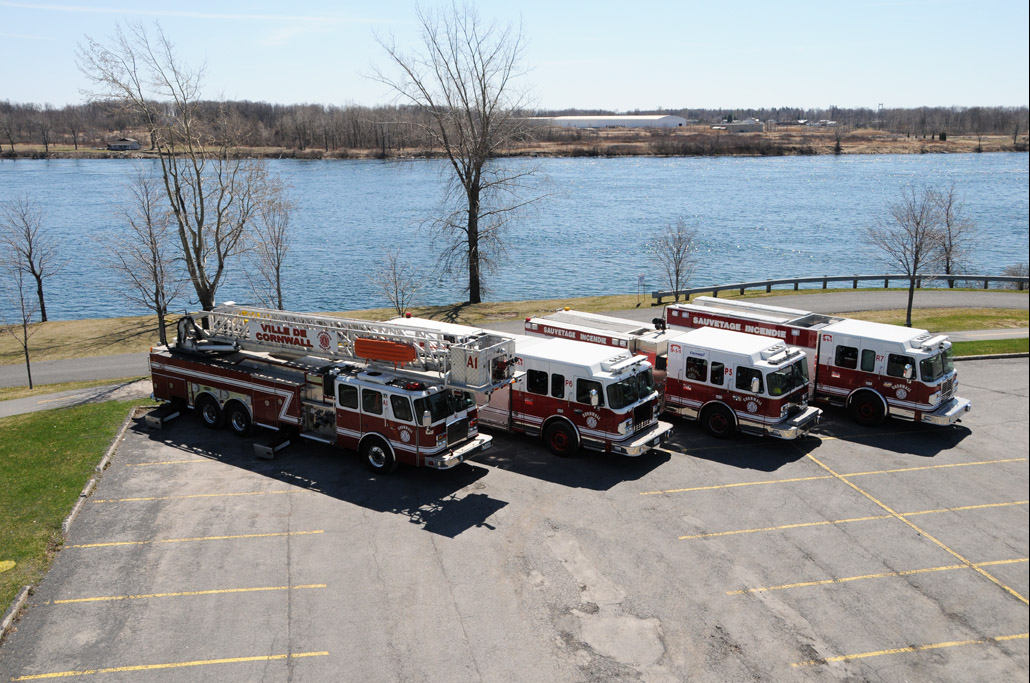Cornwall fire trucks