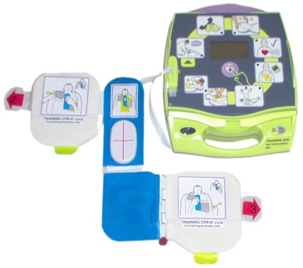 Zoll AED Plus Unit with Pads
