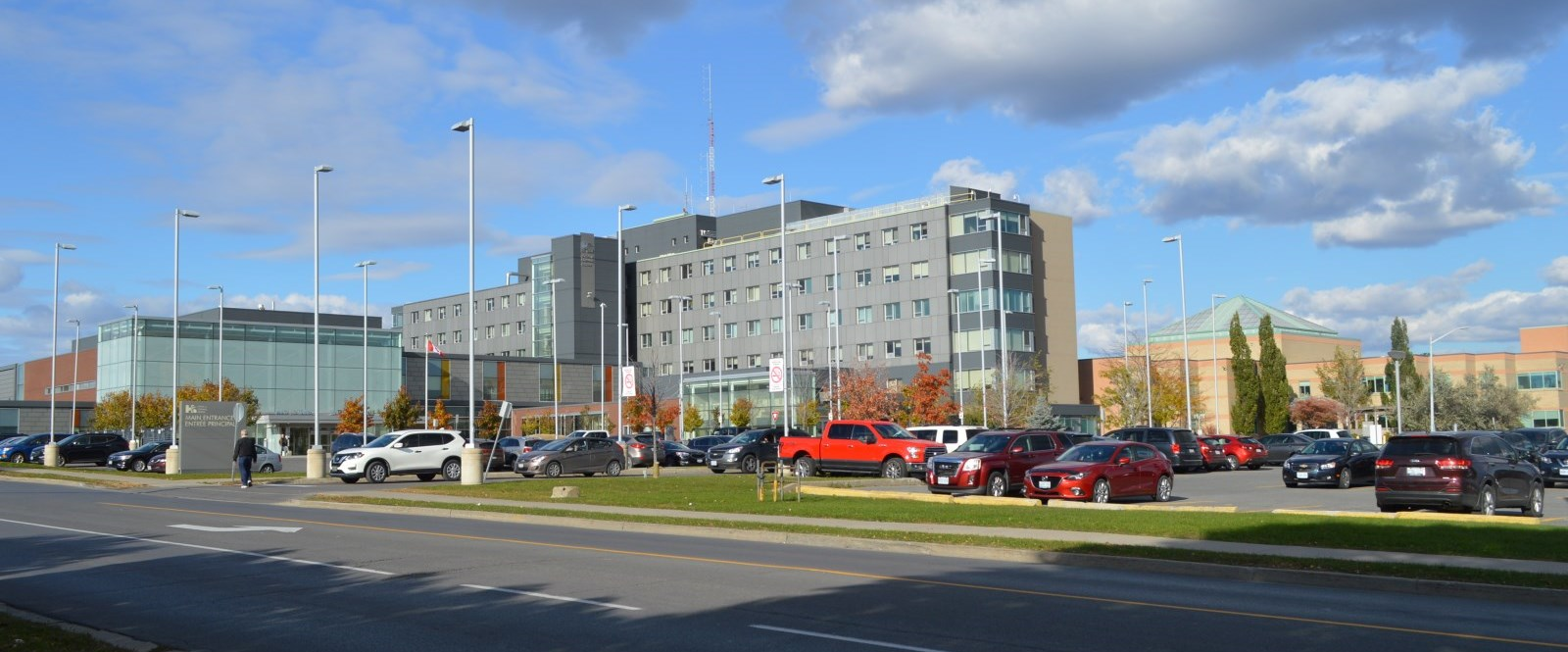 Cornwall Community Hospital as seen from across McConnell Avenue