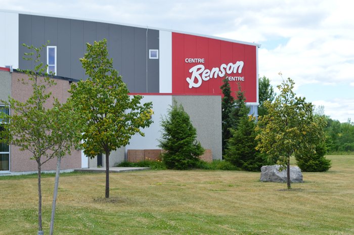 Benson Centre from outside in the summer
