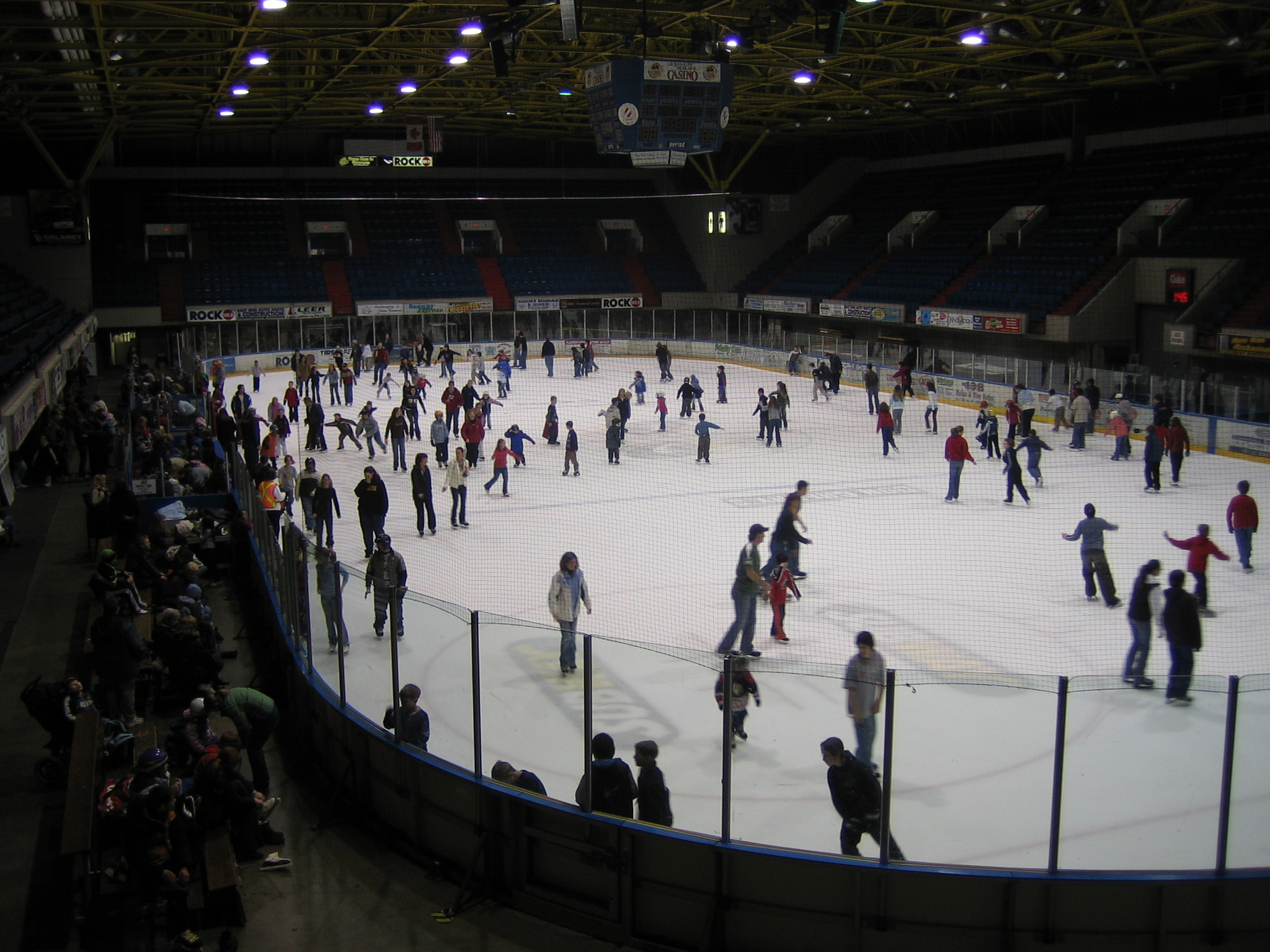 Public Skating at Ed Lumley Arena
